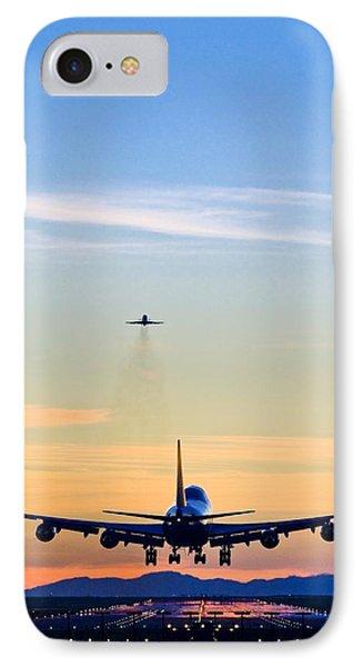Aeroplane Landing, Canada IPhone Case by David Nunuk