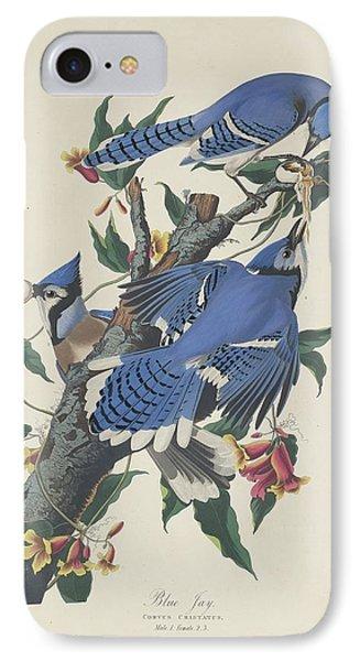 Blue Jay IPhone 7 Case by John James Audubon