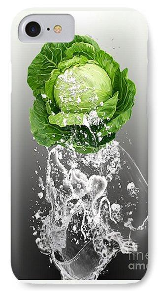 Cabbage Splash IPhone Case by Marvin Blaine