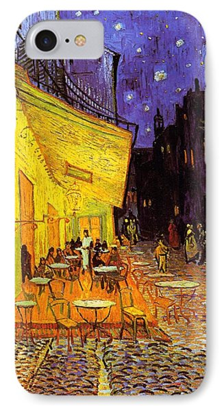 Cafe Terrace At Night IPhone Case by Vincent Van Gogh