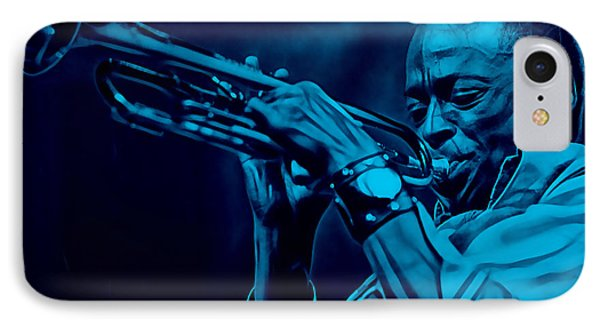Miles Davis Collection IPhone Case by Marvin Blaine