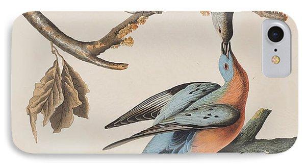 Passenger Pigeon IPhone 7 Case by John James Audubon