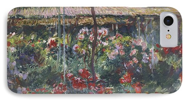 Peony Garden IPhone Case by Claude Monet