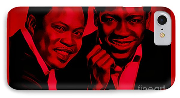 Sam And Dave Collection IPhone Case by Marvin Blaine