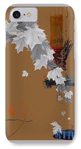 Tree Leaves Art IPhone Case by Marvin Blaine