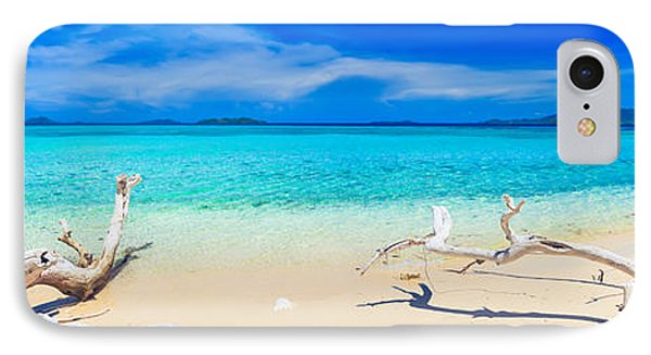 Tropical Beach Malcapuya IPhone Case by MotHaiBaPhoto Prints