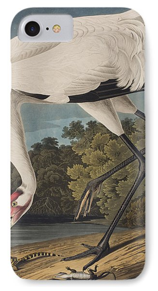 Whooping Crane IPhone 7 Case by John James Audubon