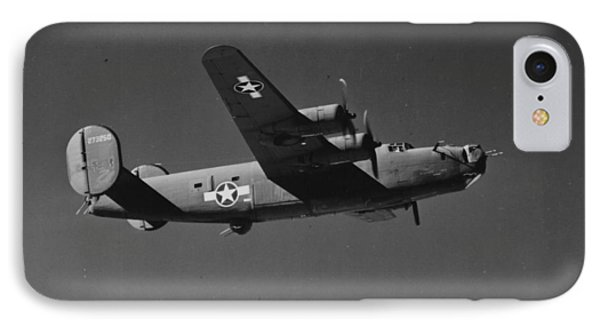 Wwii Us Aircraft In Flight IPhone 7 Case by American School