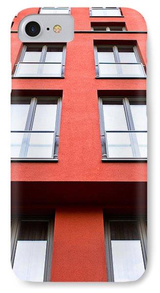 Modern Building IPhone Case by Tom Gowanlock