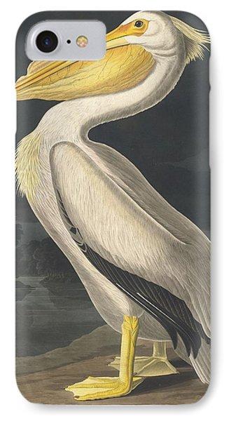 American White Pelican IPhone 7 Case by John James Audubon