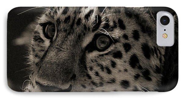 Amur Leopard IPhone 7 Case by Martin Newman