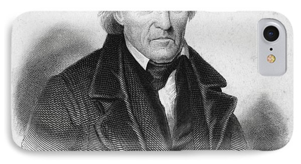Andrew Jackson (1767-1845) IPhone Case by Granger