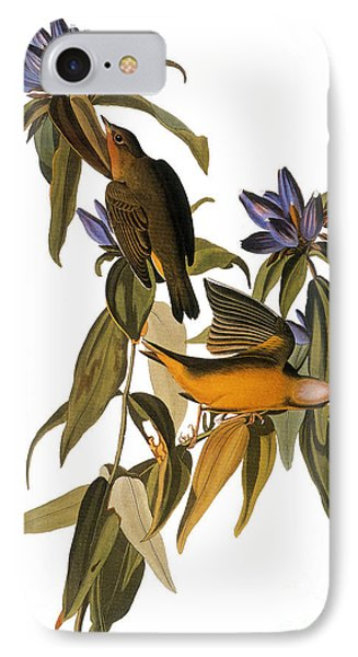 Audubon: Warbler, (1827-38) Phone Case by Granger