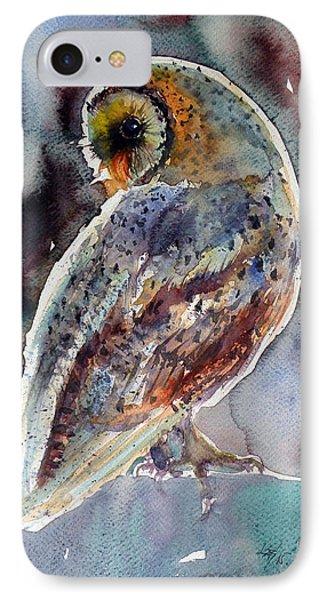 Barn Owl IPhone 7 Case by Kovacs Anna Brigitta