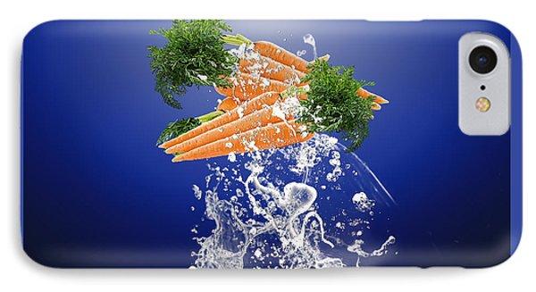 Carrot Splash IPhone Case by Marvin Blaine