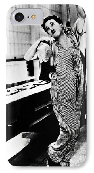 Chaplin: Modern Times, 1936 Phone Case by Granger