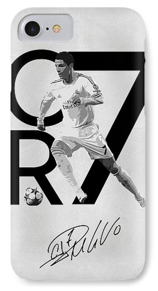 Cristiano Ronaldo IPhone 7 Case by Semih Yurdabak
