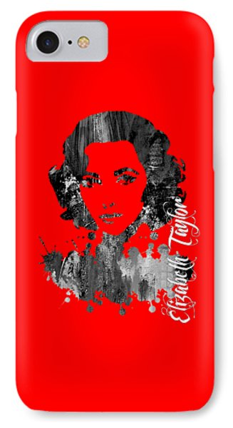 Elizabeth Taylor Collection IPhone Case by Marvin Blaine