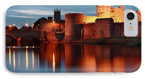 King John's Castle Limerick Ireland Phone Case by Pierre Leclerc Photography