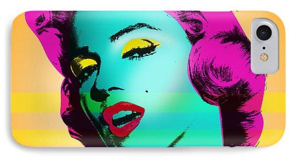 Marilyn Monroe Phone Case by Mark Ashkenazi