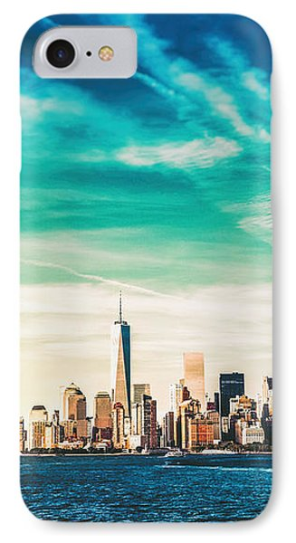 New York City Skyline IPhone Case by Vivienne Gucwa