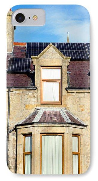 Solar Panels IPhone Case by Tom Gowanlock