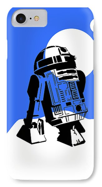 Star Wars R2-d2 Collection IPhone Case by Marvin Blaine