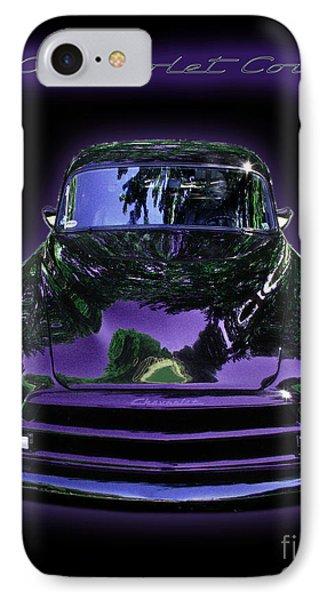 51chevrolet Coupe Phone Case by Peter Piatt