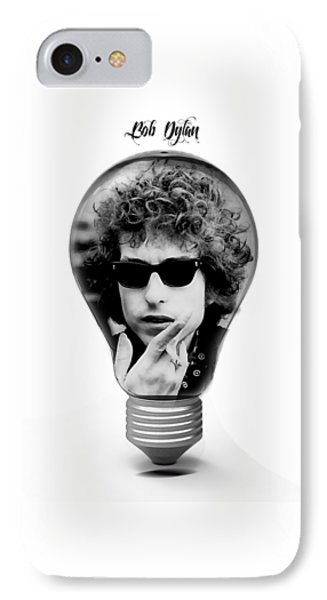 Bob Dylan Collection IPhone Case by Marvin Blaine