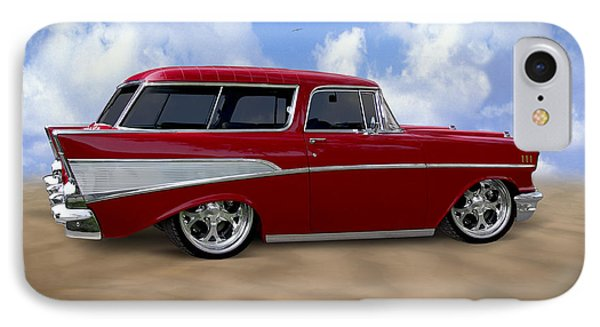 57 Belair Nomad Phone Case by Mike McGlothlen