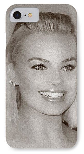 Hollywood Star Margot Robbie IPhone 7 Case by Best Actors