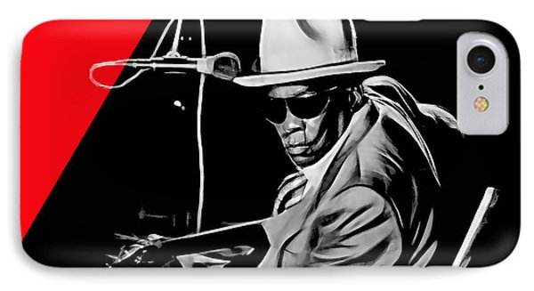 John Lee Hooker Collection IPhone Case by Marvin Blaine