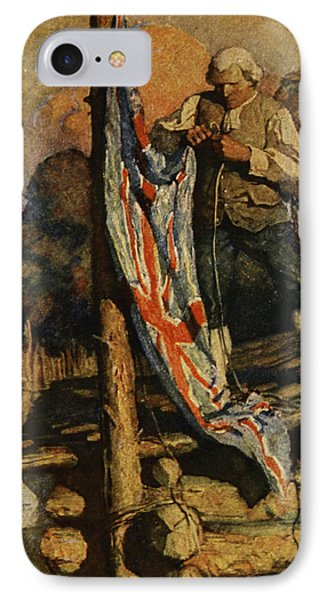 Scene From Treasure Island IPhone Case by Newell Convers Wyeth