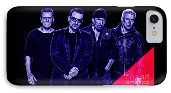 U2 Collection IPhone Case by Marvin Blaine