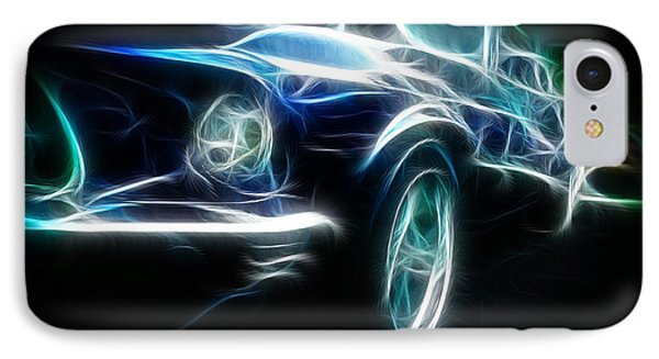 69 Mustang Mach 1 Fantasy Car Phone Case by Paul Ward