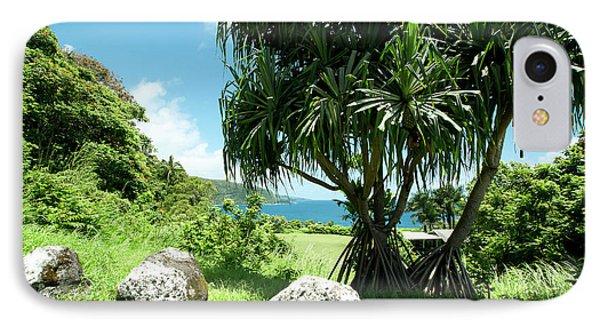 Keanae Maui Hawaii IPhone Case by Sharon Mau