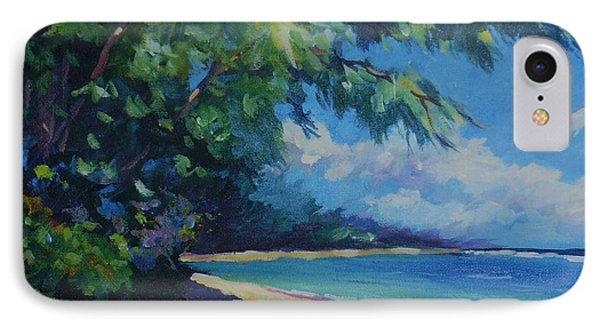 7-mile Beach IPhone Case by John Clark