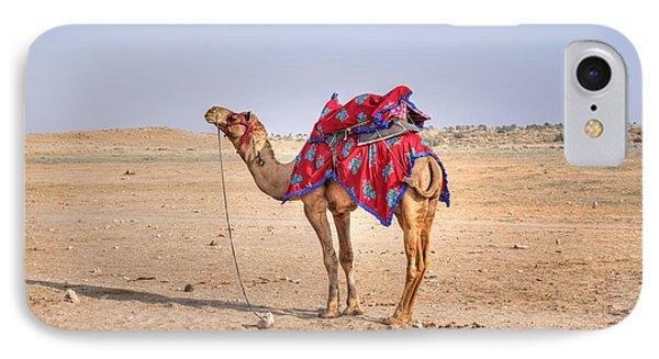 Thar Desert - India IPhone 7 Case by Joana Kruse