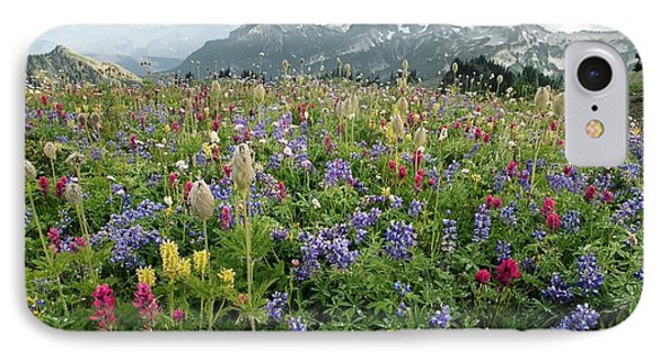 Wildflower Meadow Phone Case by Bob Gibbons