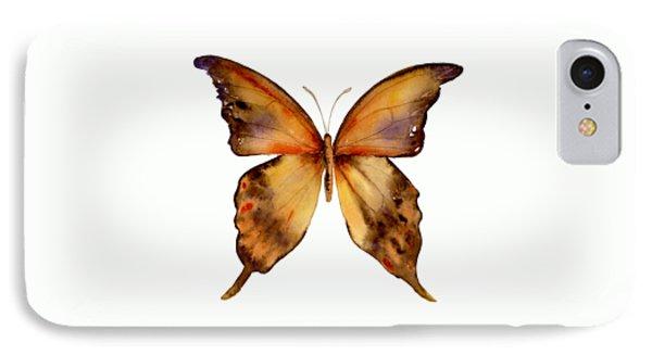 7 Yellow Gorgon Butterfly IPhone 7 Case by Amy Kirkpatrick
