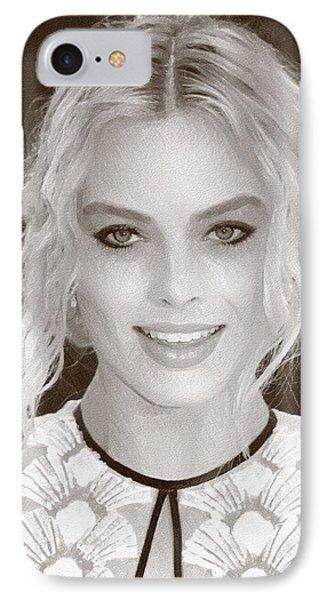 Actress Margot Robbie IPhone 7 Case by Best Actors