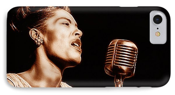 Billie Holiday Collection IPhone Case by Marvin Blaine