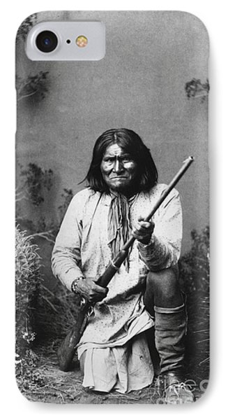 Geronimo (1829-1909) Phone Case by Granger