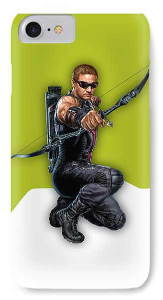 Hawkeye Collection IPhone Case by Marvin Blaine