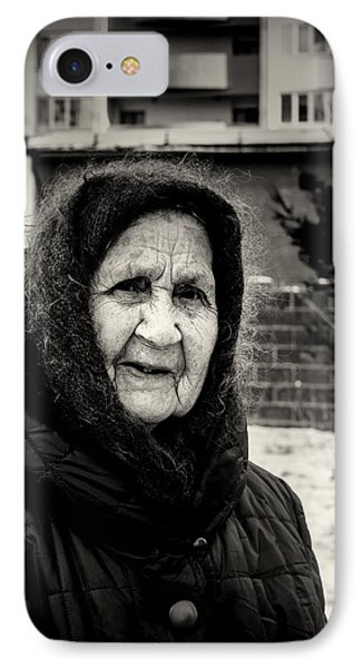 85 Year Old Russian Woman IPhone Case by John Williams