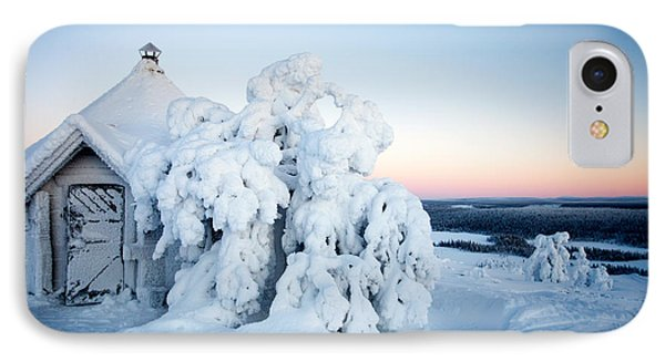 Winter In Lapland Finland IPhone Case by Kati Molin