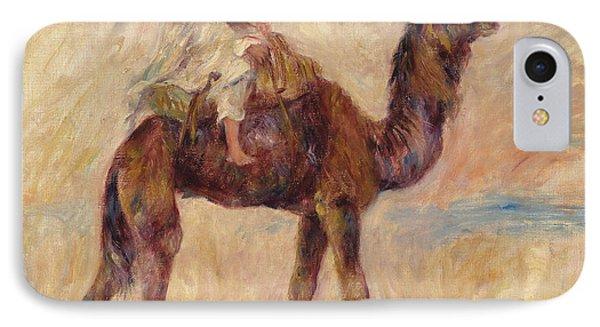 A Camel IPhone Case by Pierre Auguste Renoir