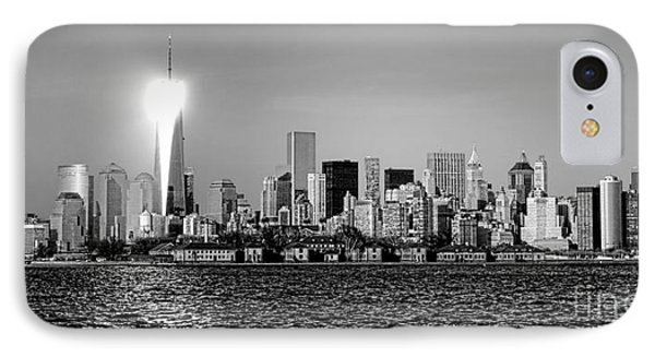 A City Reborn  IPhone Case by Olivier Le Queinec