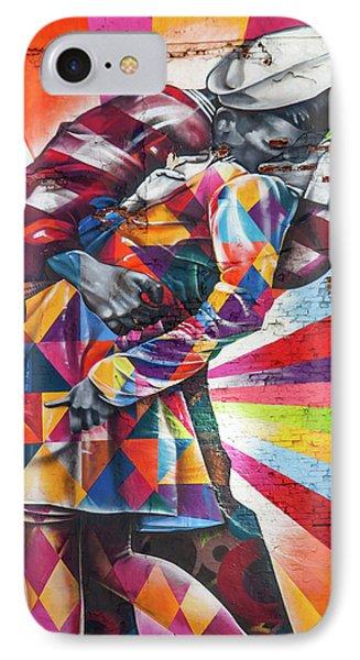 A Colorful Romance IPhone Case by Az Jackson