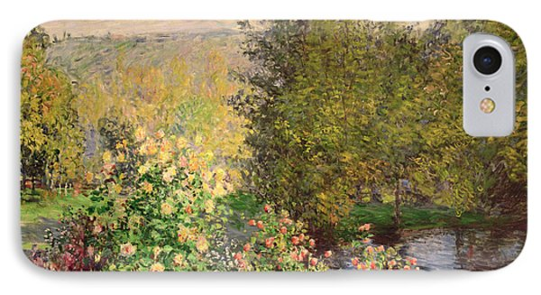 A Corner Of The Garden At Montgeron IPhone Case by Claude Monet